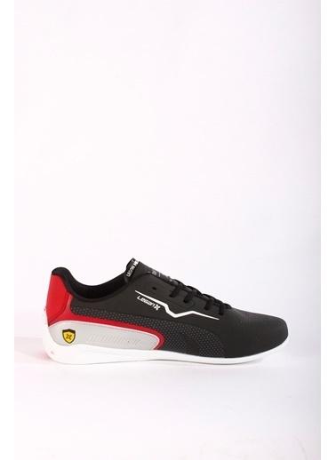 Rodrigo Erkek Beyaz Rahat Taban Spor Ayakkabı Siyah